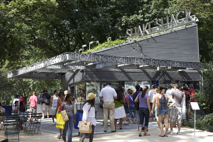 The Shake Shack, Madison Square Park