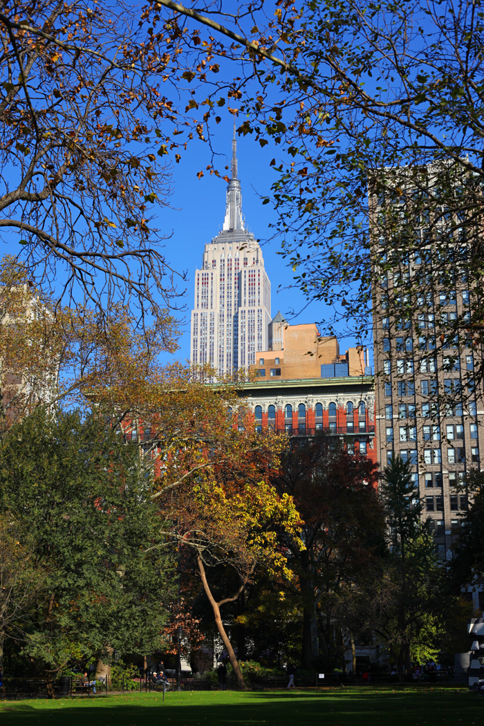 Empire State Building, Madison Square Park
