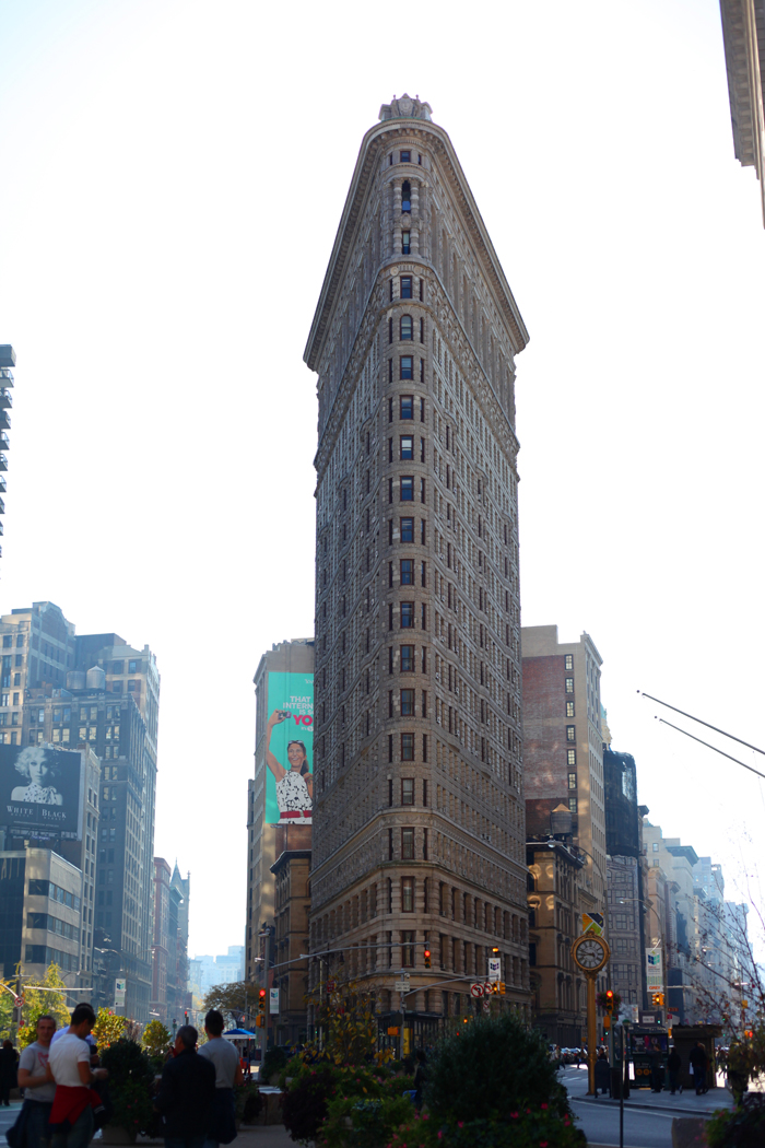Flat Iron, Madison Square Park