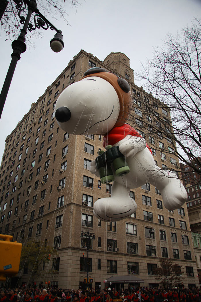 No parade would be complete without Snoopy