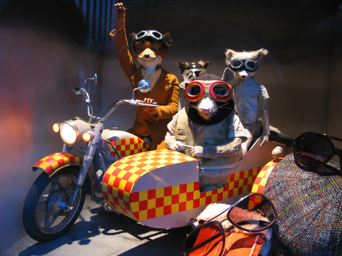 Easy rider Fantastic Mr. Fox