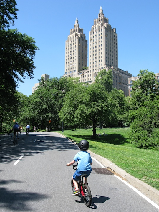 Central Park Cycle Ride during Memorial Day Weekend