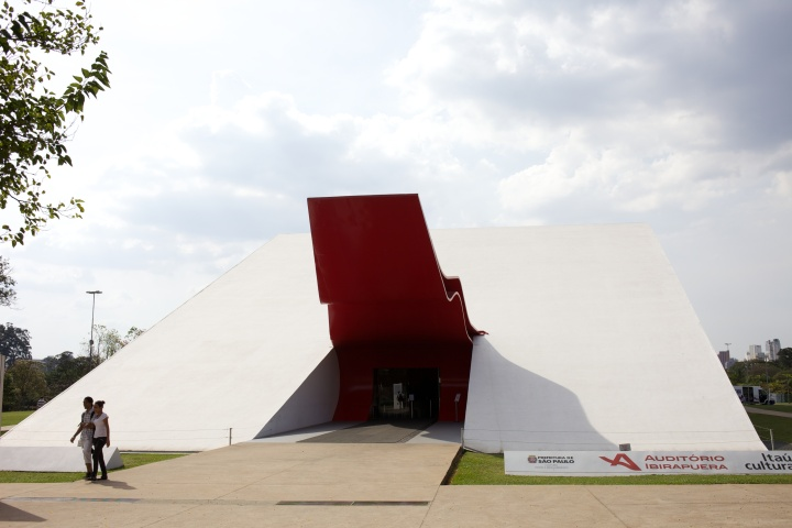 The incredible Auditorio Ibirapuera - other worldly in design